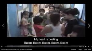 israeli kids rockets