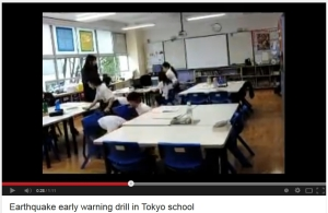 japanese kids earthquake