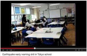 japanese kids earthquake