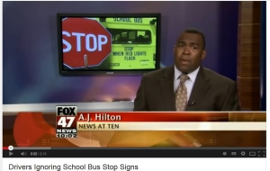 stop for the school bus