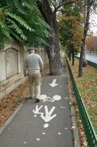 1. Pista pentru biciclisti