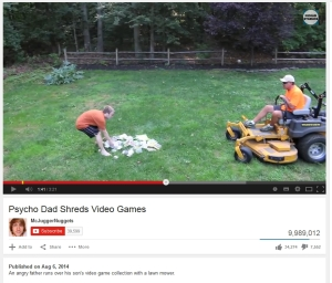 mowing video games