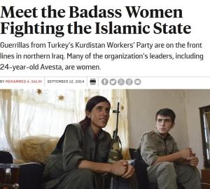 women peshmerga