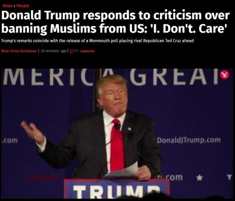 ban muslims