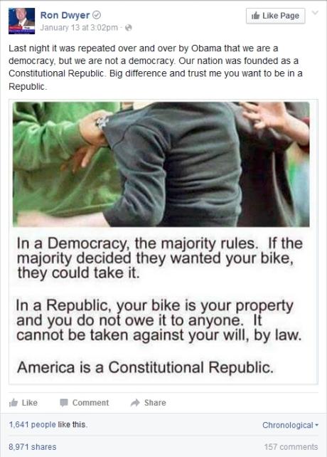 democracy, bikes