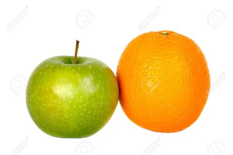 5989177-comparing-apples-to-oranges-isolated-on-white-stock-photo