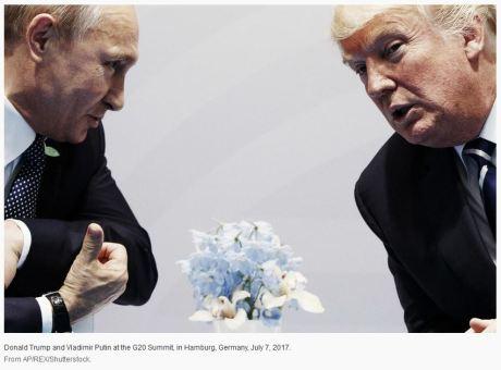 Putin Trump Hamburg