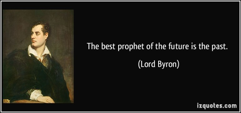 past future byron prophecy