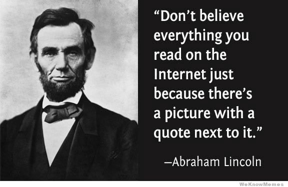 internet lies lincoln