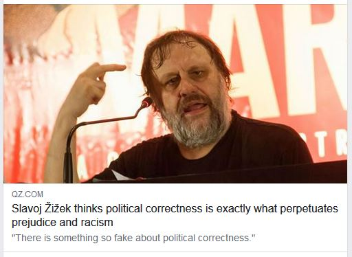 political correctness zizek